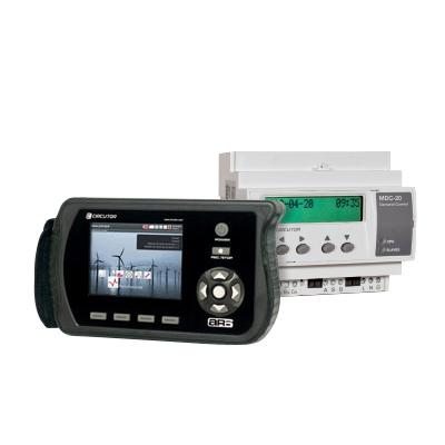 Medidores digitales y analógicos: KW, tensión, corriente, factor de potencia